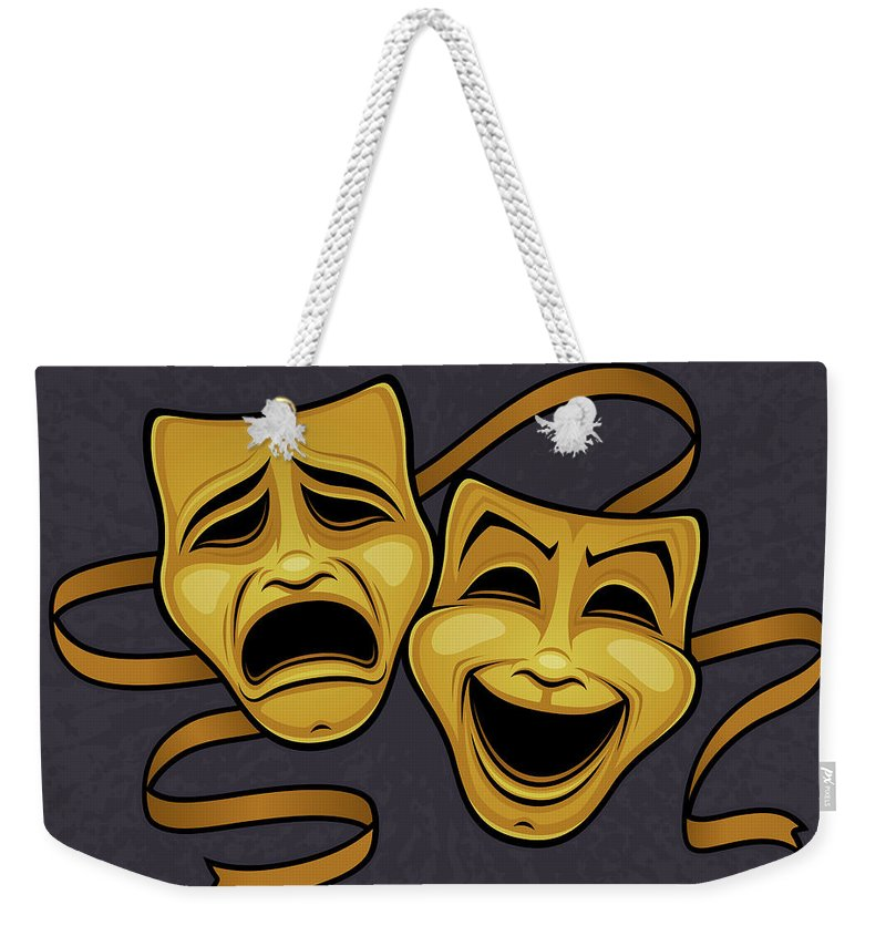 Live Theater Weekender Tote Bags