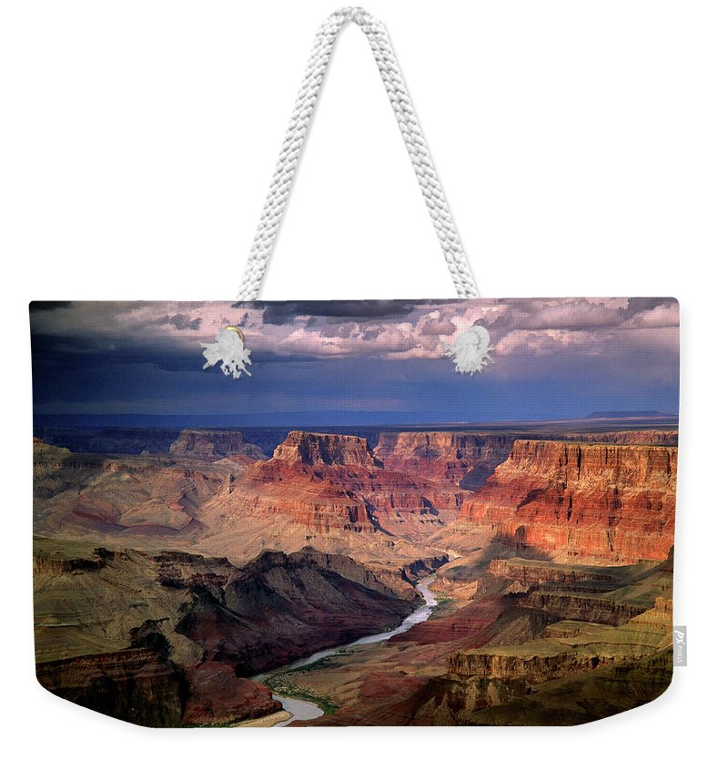 Scenics Weekender Tote Bag featuring the photograph Grand Canyon, Arizon, Usa by Michael Busselle