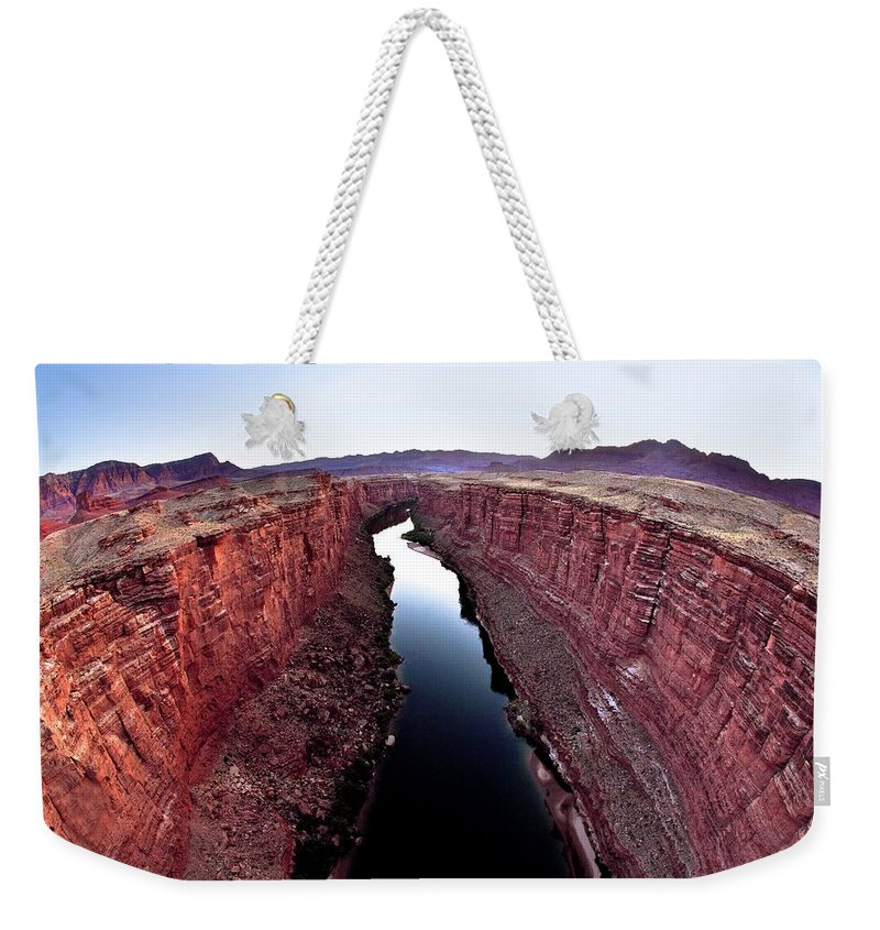 Scenics Weekender Tote Bag featuring the photograph Grand Canyon, Arizona, Usa by Design Pics/richard Wear