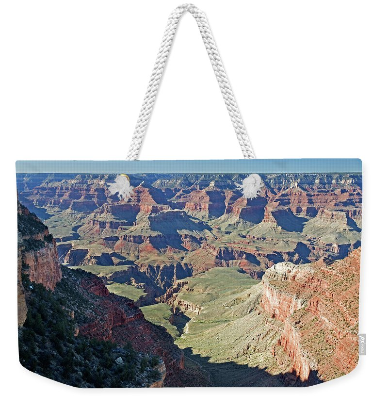 Scenics Weekender Tote Bag featuring the photograph Grand Canyon Beauty by Mitch Diamond