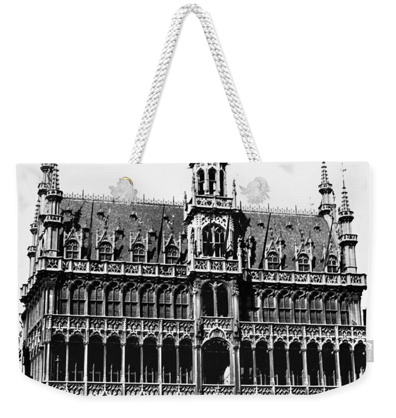 15th Century Weekender Tote Bag featuring the photograph Grand Palace, Brussels by Granger