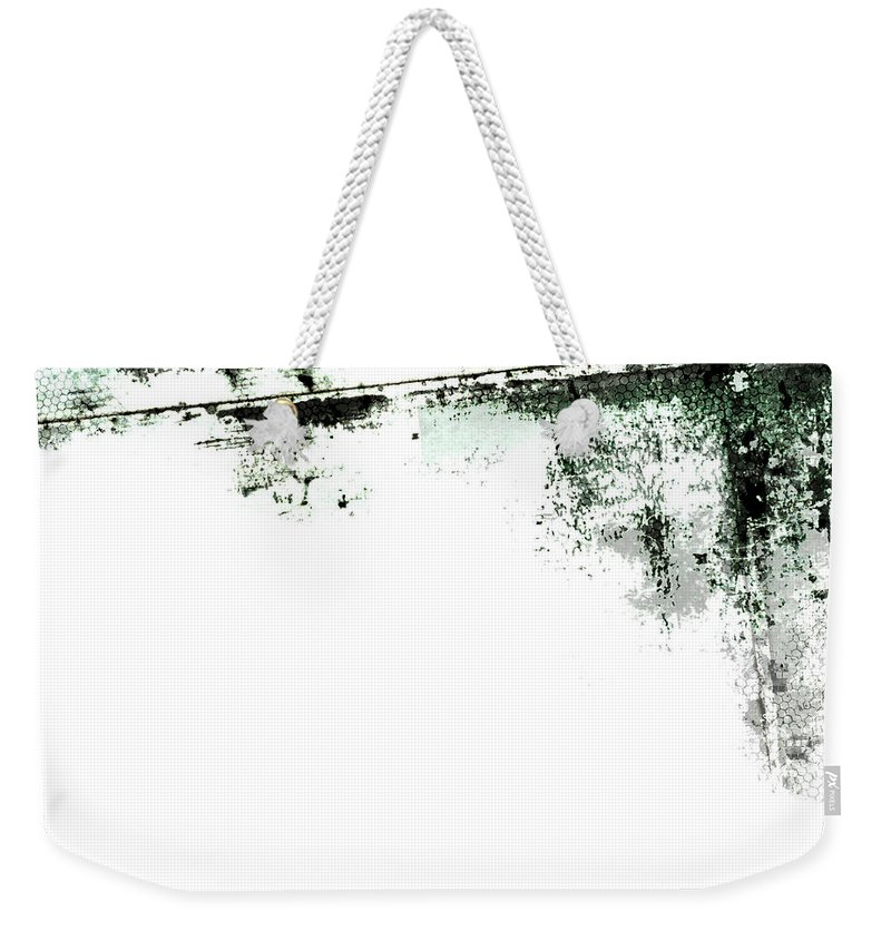 Material Weekender Tote Bag featuring the photograph Grunge Border by Akirastock