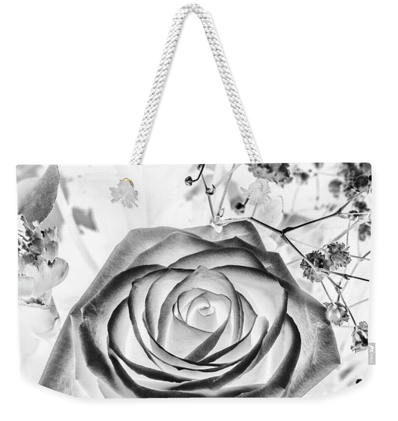 Garden Weekender Tote Bag featuring the photograph Harmonics Inverted by Jorgo Photography - Wall Art Gallery