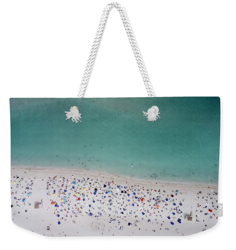 Water's Edge Weekender Tote Bag featuring the photograph Haulover, Miami by Copyright Www.floridaphoto.com 305.235.7051
