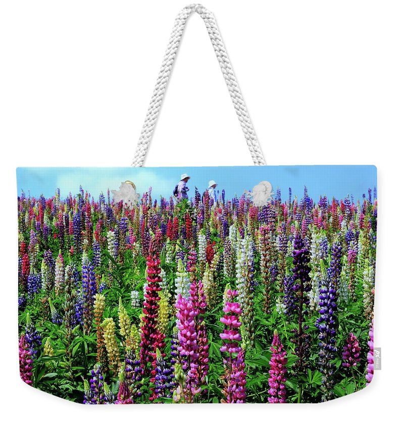 Scenics Weekender Tote Bag featuring the photograph Hokkaido by Frank Chen