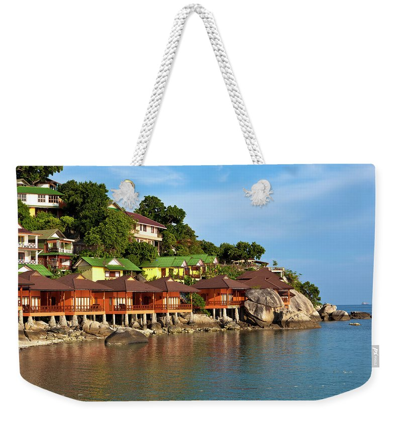 Vacations Weekender Tote Bag featuring the photograph Holiday Villas by 35007