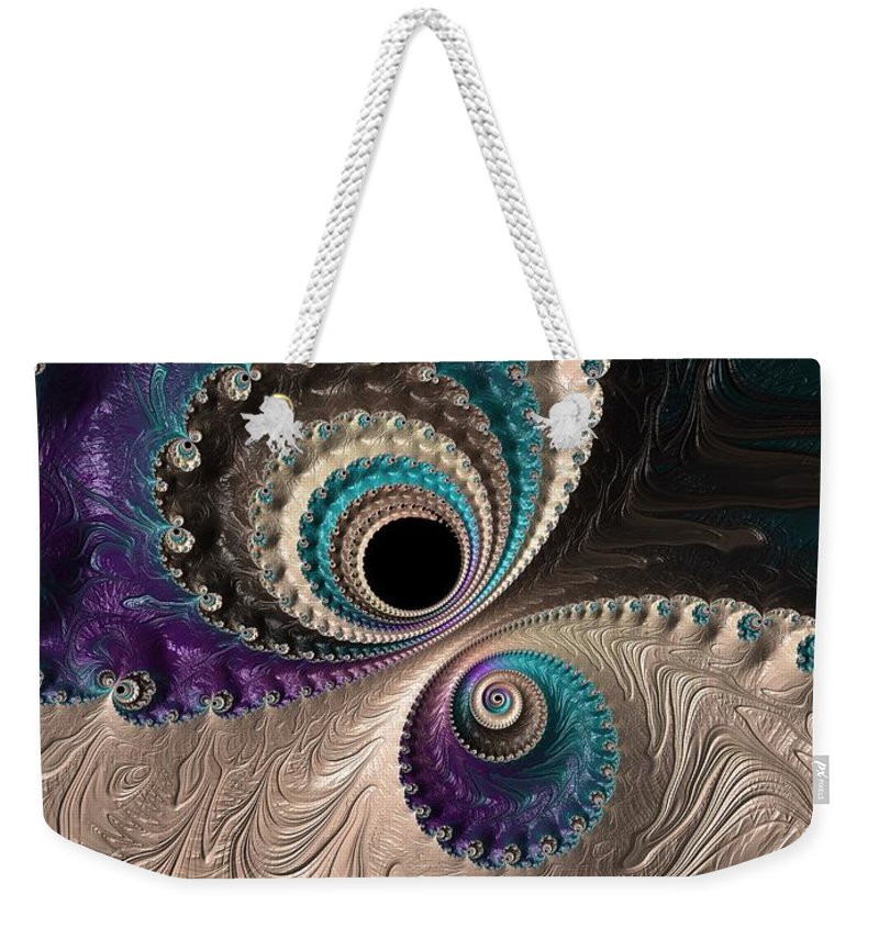 Frax Weekender Tote Bag featuring the photograph I Have My Eye On You. by Minnetta Heidbrink