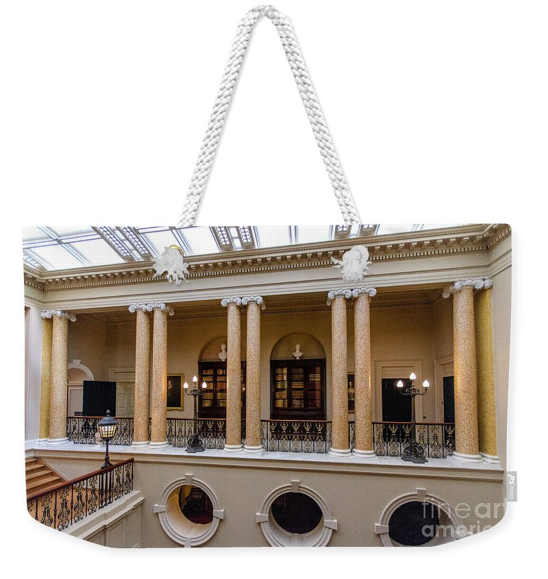 Young Girl Weekender Tote Bag featuring the photograph Ickworth House, Image 22 by Jonny Essex