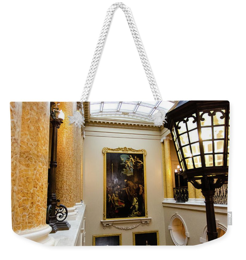 Young Girl Weekender Tote Bag featuring the photograph Ickworth House, Image 39 by Jonny Essex