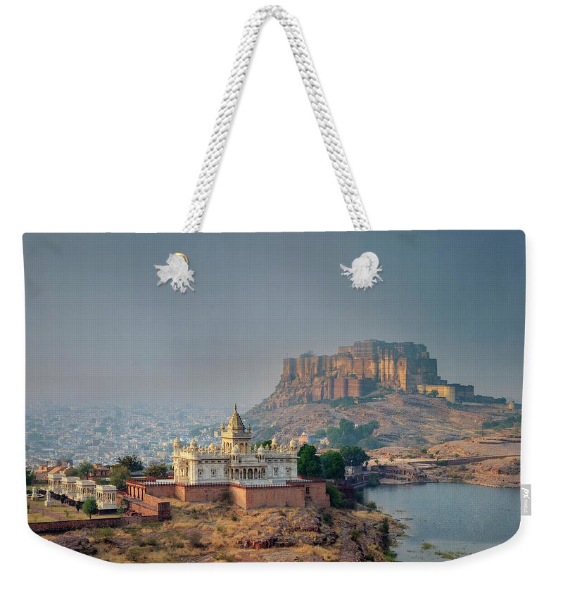 Hinduism Weekender Tote Bag featuring the photograph India, Jodhpure, Mehrangarh Historic by Michele Falzone