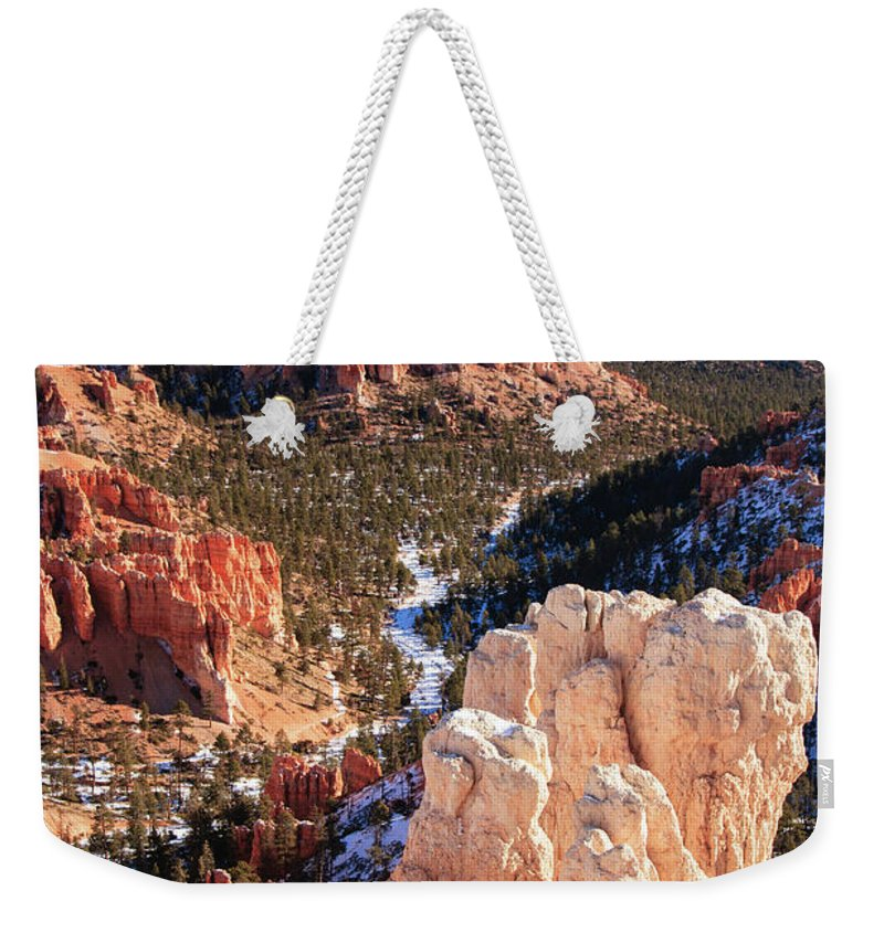 Tranquility Weekender Tote Bag featuring the photograph Inspirational by Daniel Cummins