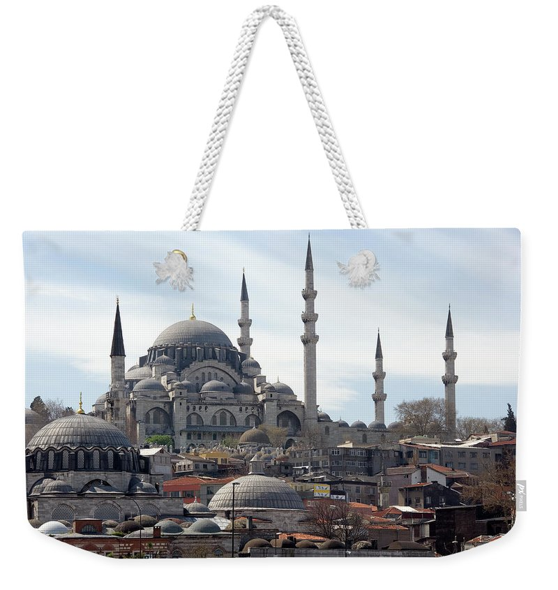 Istanbul Weekender Tote Bag featuring the photograph Istanbul In Turkey by Steve Allen