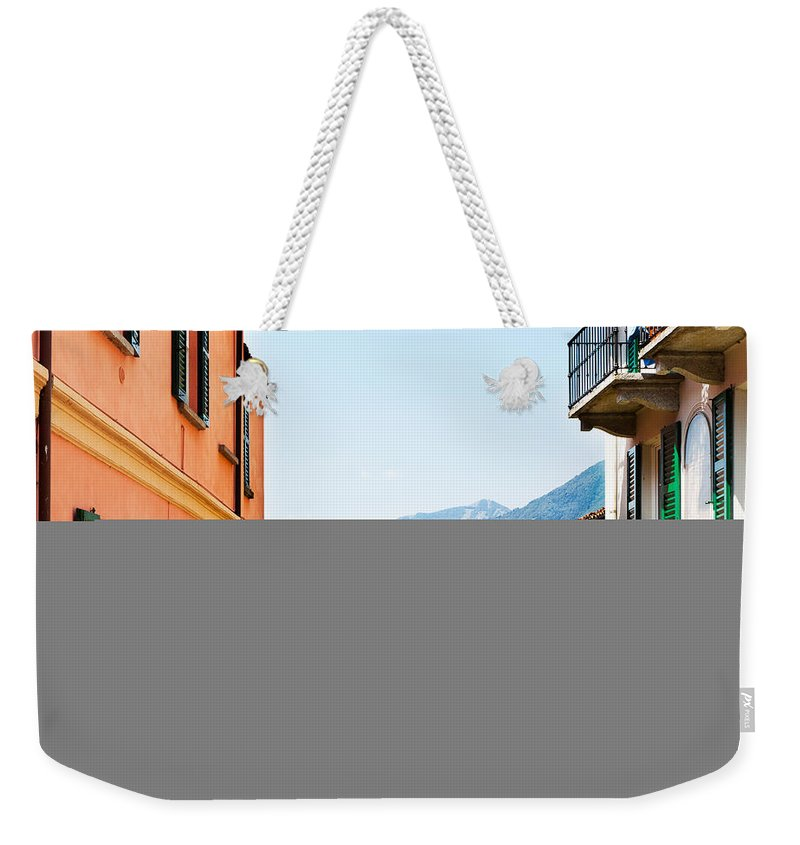 Italian Culture Weekender Tote Bag featuring the photograph Italian Village by Tomml