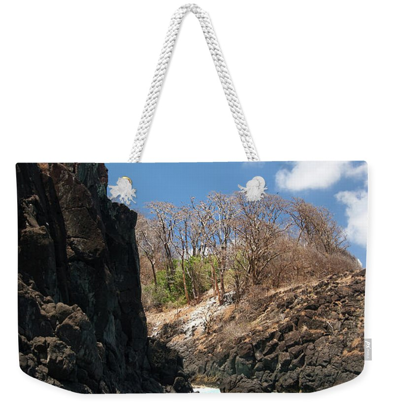 Tranquility Weekender Tote Bag featuring the photograph Jumping by Mauricio M Favero