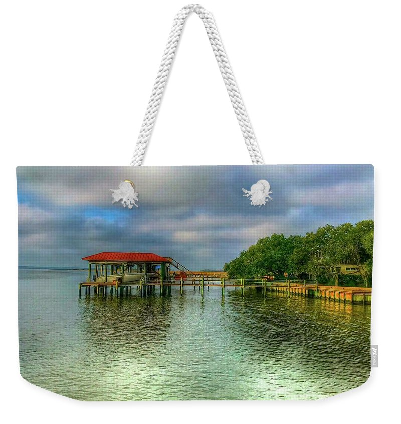 Water Weekender Tote Bag featuring the photograph Just Add Water by Debbi Granruth
