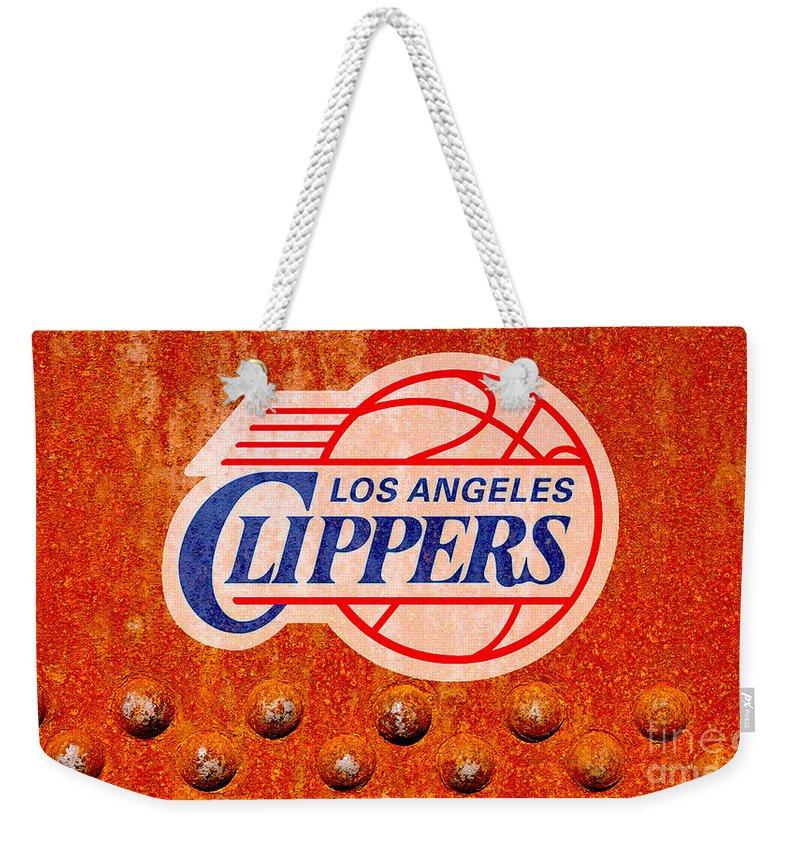 La Clippers Weekender Tote Bags