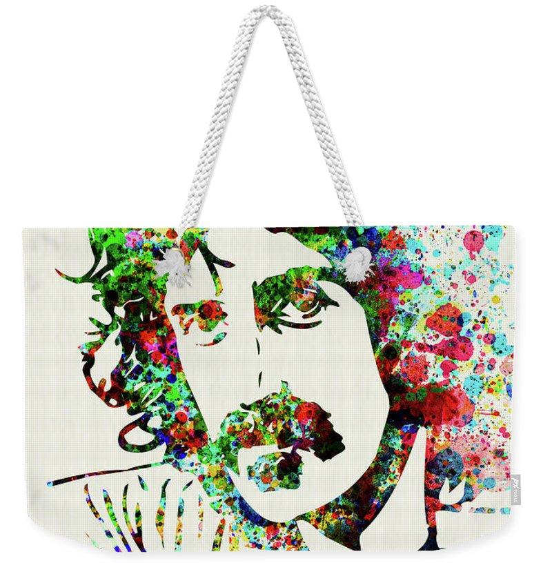 Frank Zappa Weekender Tote Bags