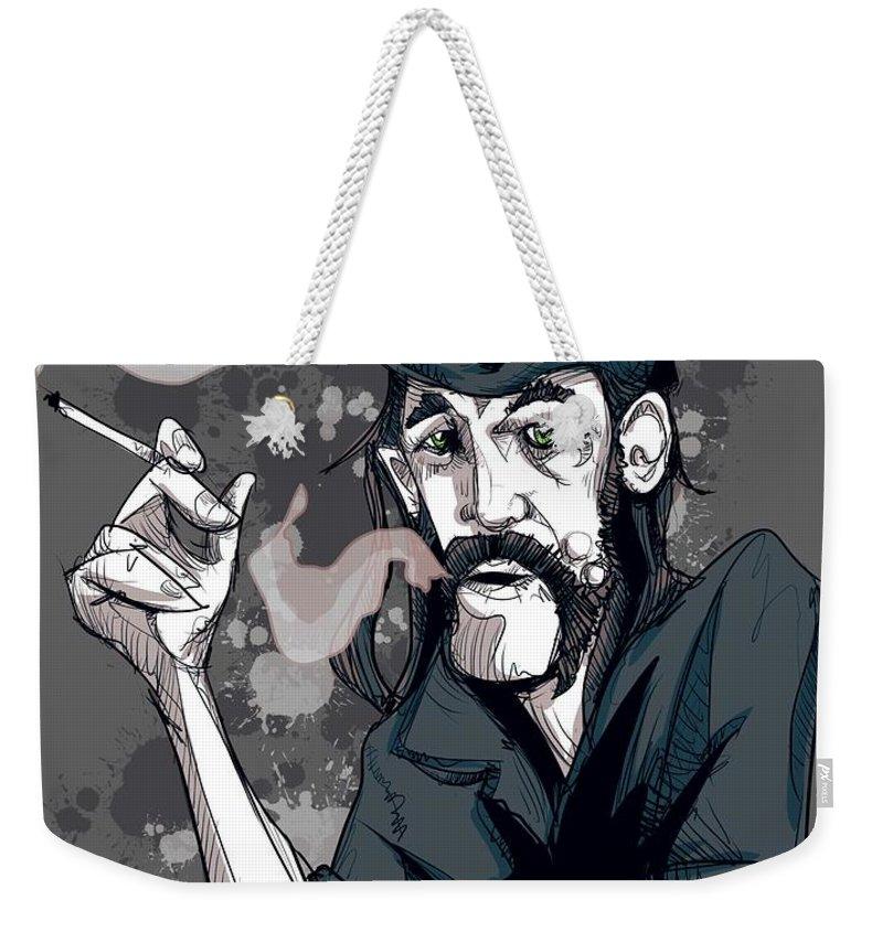 Metal Drawings Weekender Tote Bags
