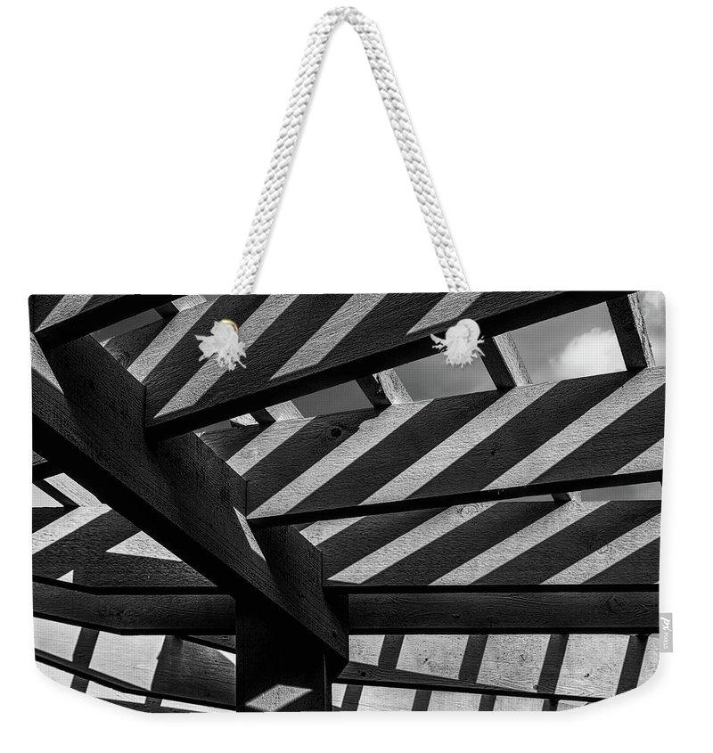Trellis Photographs Weekender Tote Bags