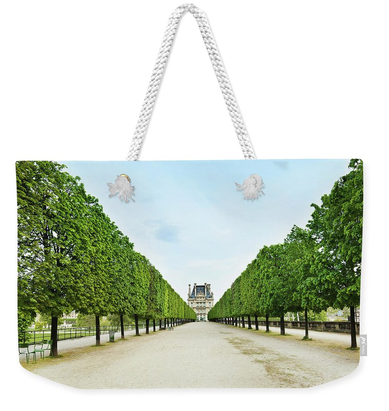 Scenics Weekender Tote Bag featuring the photograph Louvre In Paris by Nikada