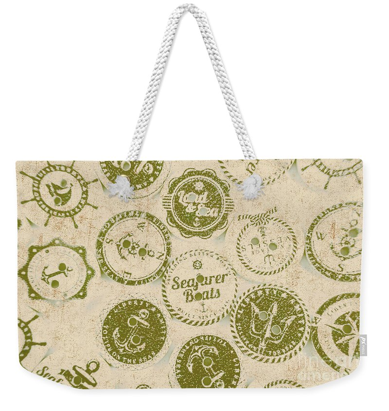 Sailing Weekender Tote Bag featuring the photograph Maritime Motifs by Jorgo Photography - Wall Art Gallery