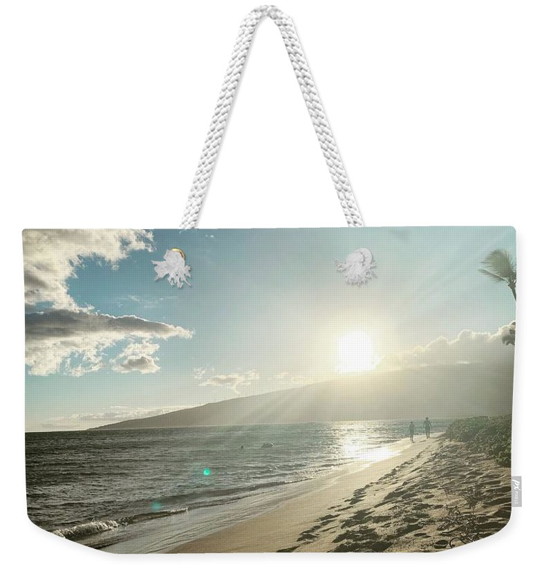 Hawaii Weekender Tote Bag featuring the photograph Maui by Kristin Rogers