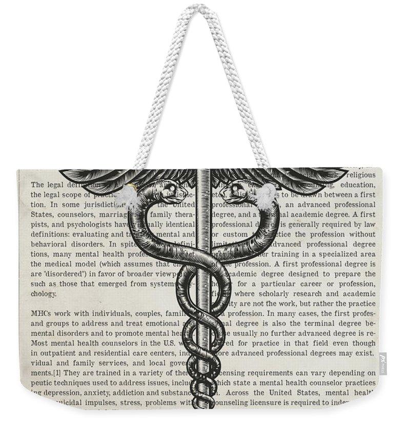 Psychiatrist Weekender Tote Bags