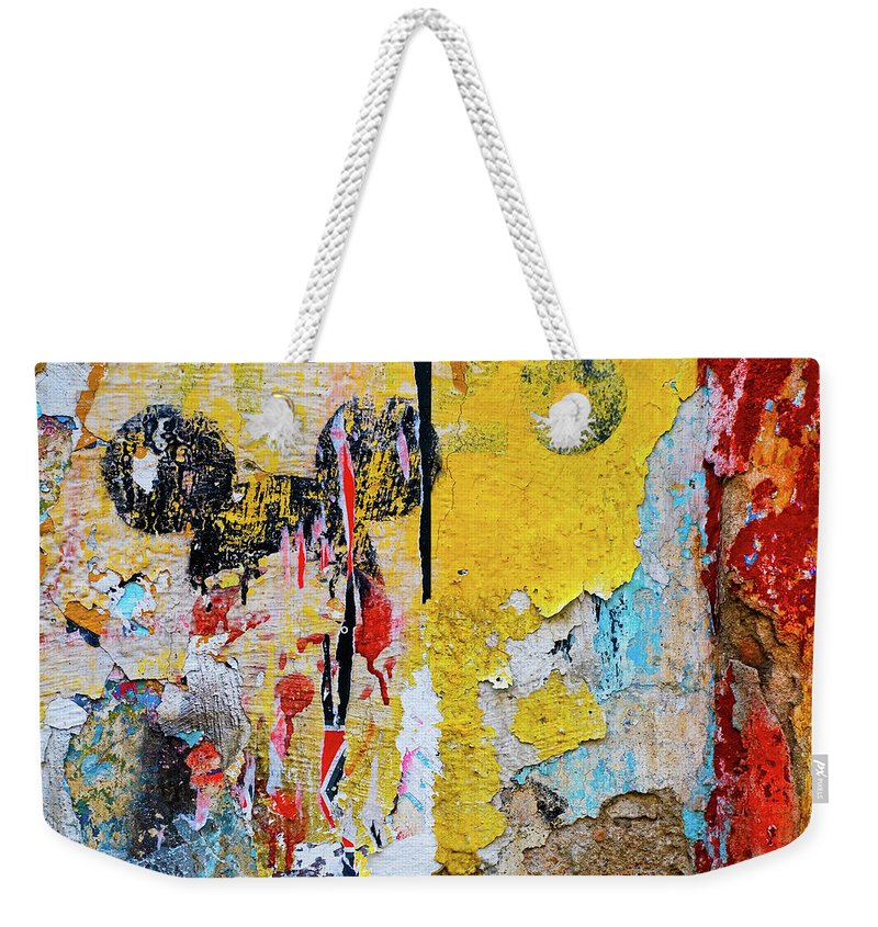 Mickey Mouse Weekender Tote Bag featuring the photograph Mickeys Nightmare by Skip Hunt