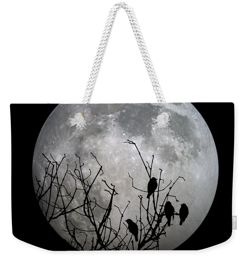 Full Weekender Tote Bag featuring the photograph Midnight Moonshiners by Betsy Knapp
