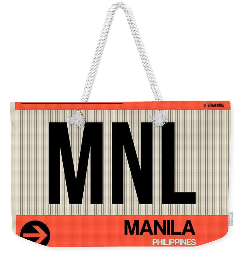 Philippines Weekender Tote Bags