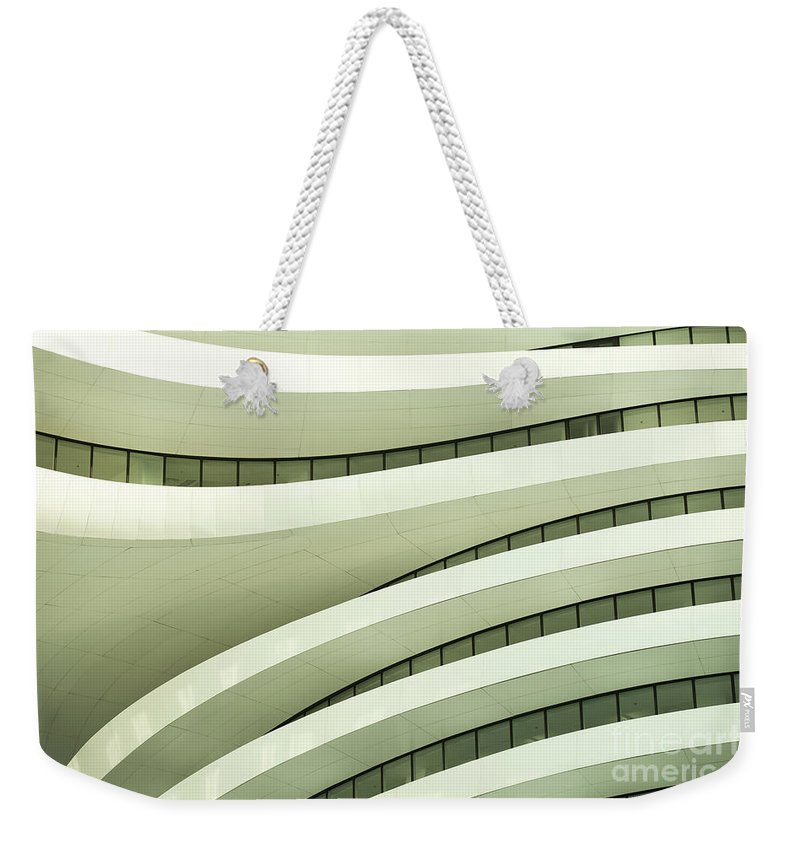 Arch Weekender Tote Bag featuring the photograph Modern Architecture by Phototalk