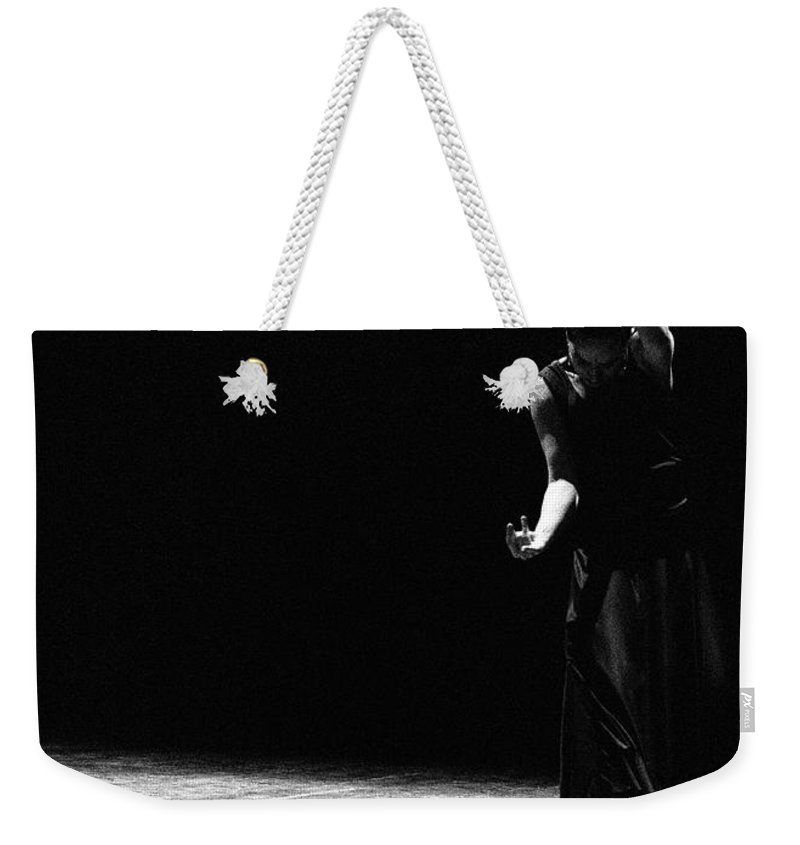 Ballet Dancer Weekender Tote Bag featuring the photograph Modern Flamenco by T-immagini