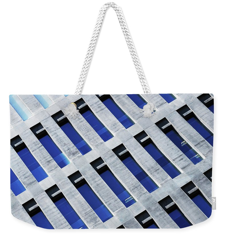 Corporate Business Weekender Tote Bag featuring the photograph Modern Offices Building by Joelle Icard