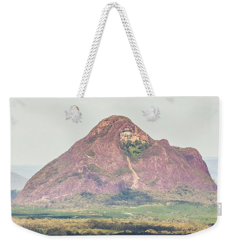 Mountain Weekender Tote Bag featuring the photograph Mount Beerwah by Jorgo Photography - Wall Art Gallery