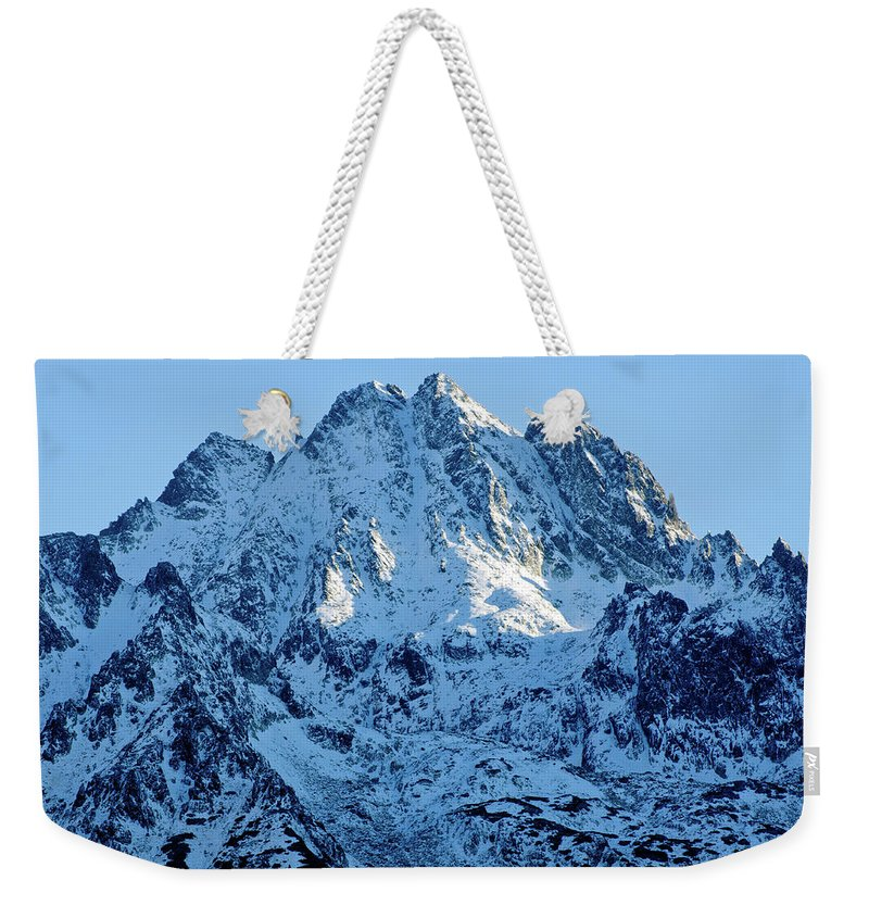 Scenics Weekender Tote Bag featuring the photograph Mountain by Yorkfoto