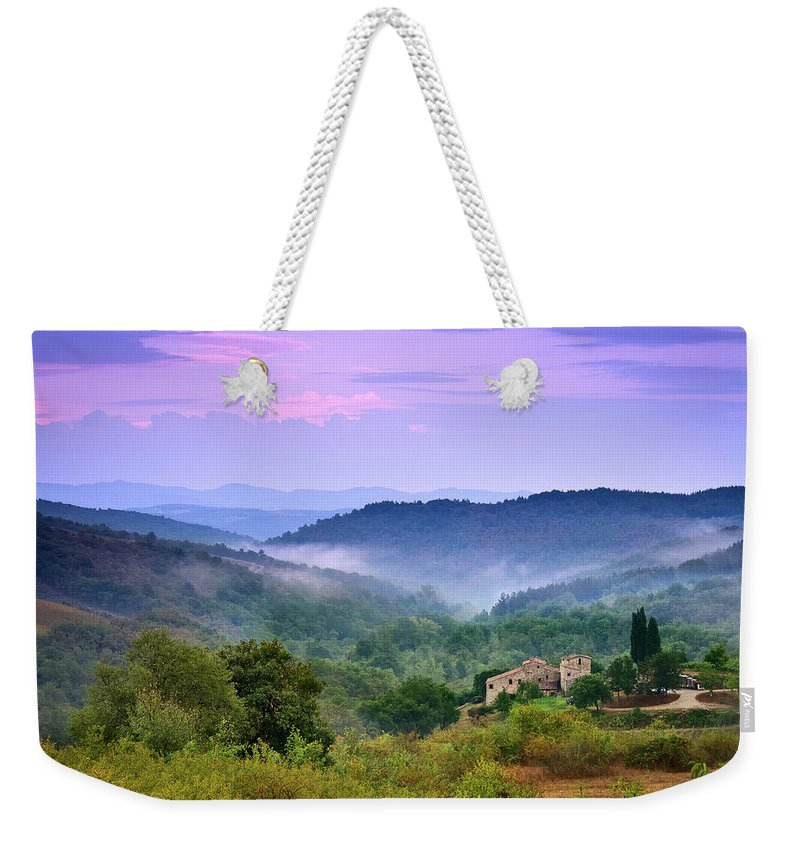 Scenics Weekender Tote Bag featuring the photograph Mountains by Christian Wilt