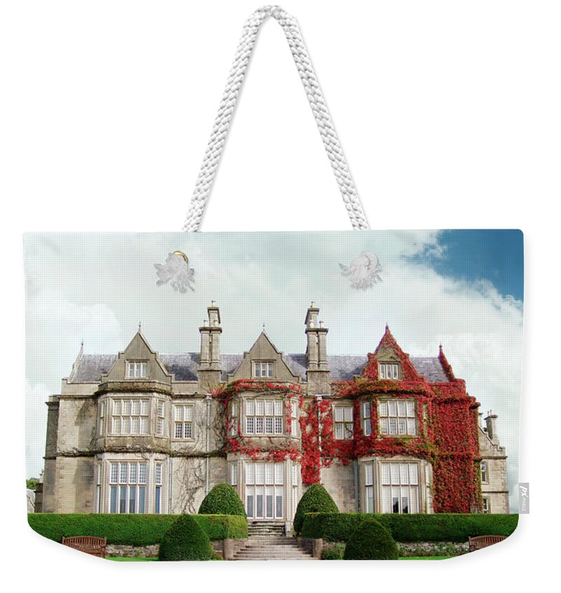 Grass Weekender Tote Bag featuring the photograph Muckross House by Narvikk