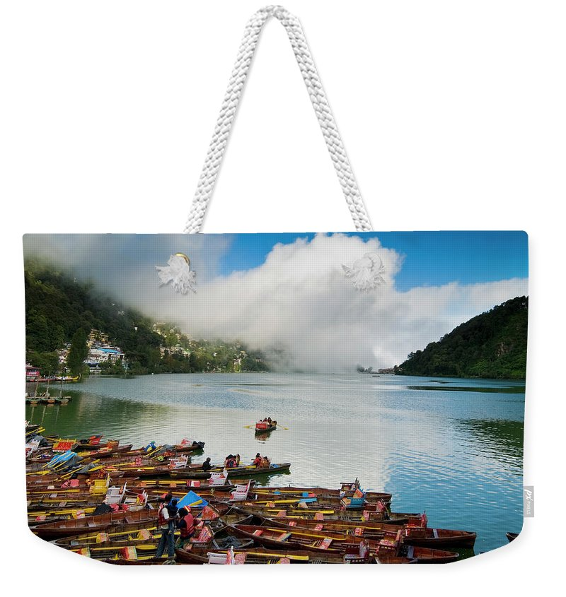 Outdoors Weekender Tote Bag featuring the photograph Nainital, Uttrakhand, India by Jitendra Singh Is A New Delhi / Shimla Based Photojournalist