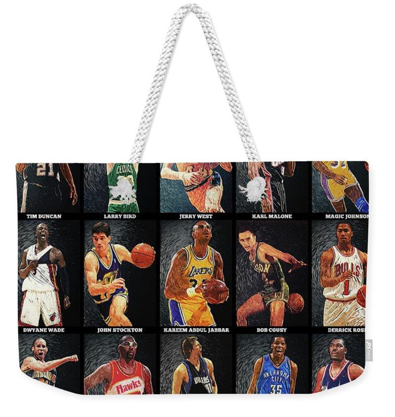 All Stars Digital Art Weekender Tote Bags