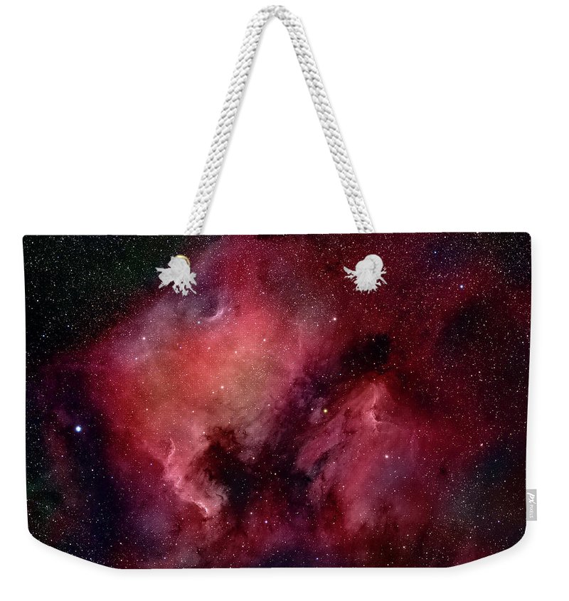 Majestic Weekender Tote Bag featuring the photograph Nebulae In Cygnus by Plefevre
