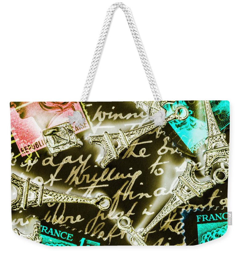 Romantic Weekender Tote Bag featuring the photograph Neo Romantics by Jorgo Photography - Wall Art Gallery
