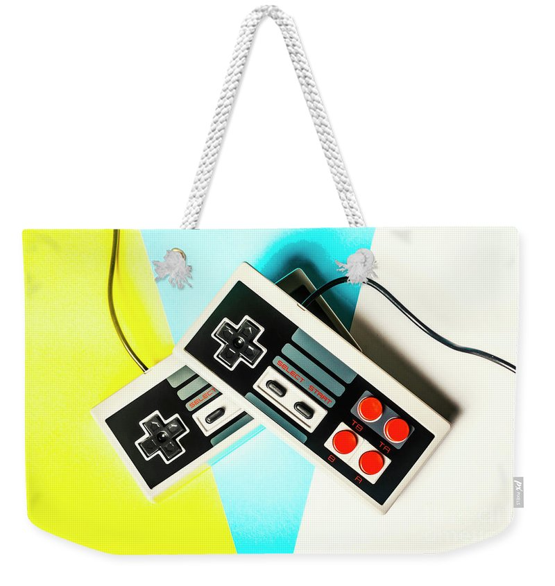 Gaming Weekender Tote Bag featuring the photograph Nestalgia by Jorgo Photography - Wall Art Gallery