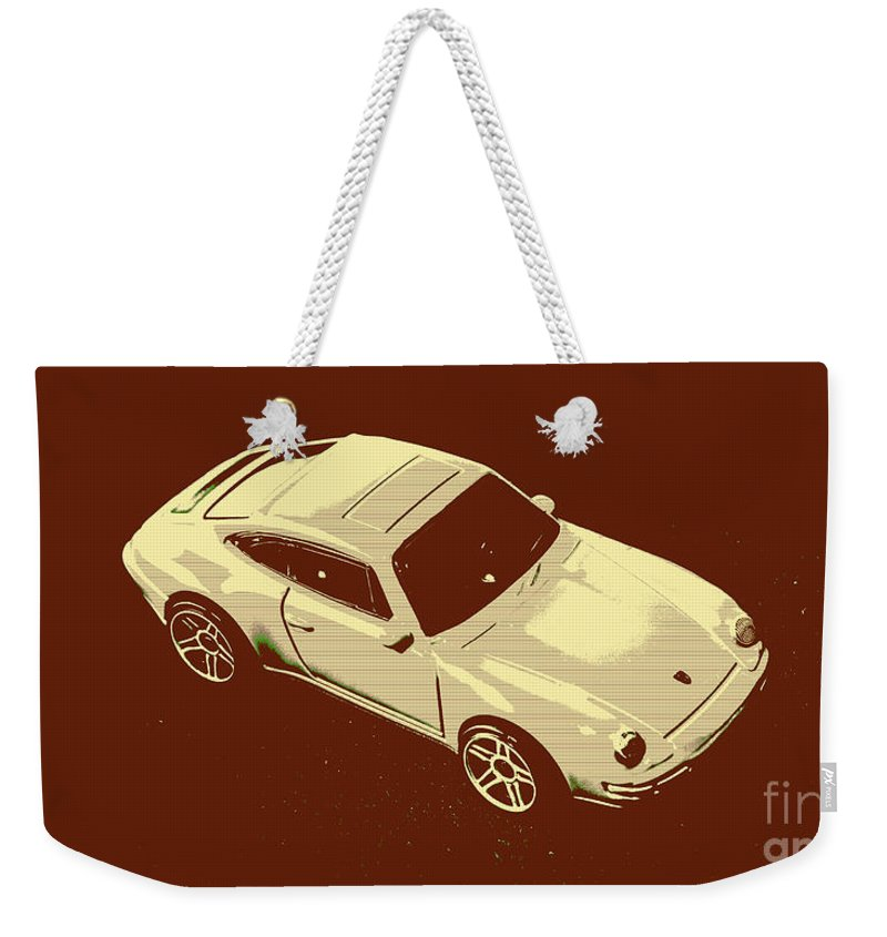 Sportcars Weekender Tote Bag featuring the photograph Nineties Retro by Jorgo Photography - Wall Art Gallery