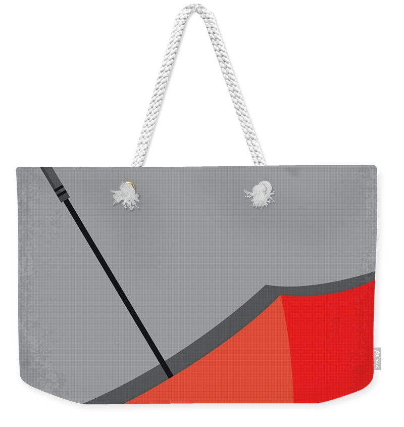 Pleasantville Weekender Tote Bag featuring the digital art No990 My Pleasantville Minimal Movie Poster by Chungkong Art