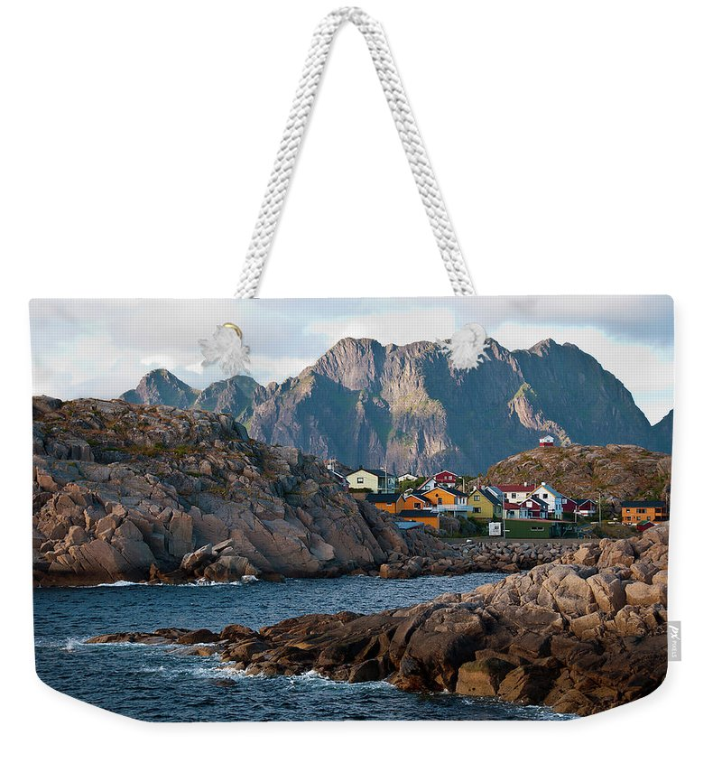 Tranquility Weekender Tote Bag featuring the photograph Norway by Brigitte Hermans