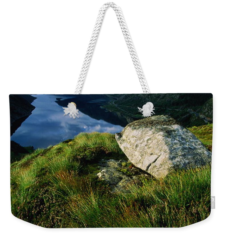 Scenics Weekender Tote Bag featuring the photograph Norway, Maloy, Nordfjord, Alpine Tundra by Paul Souders