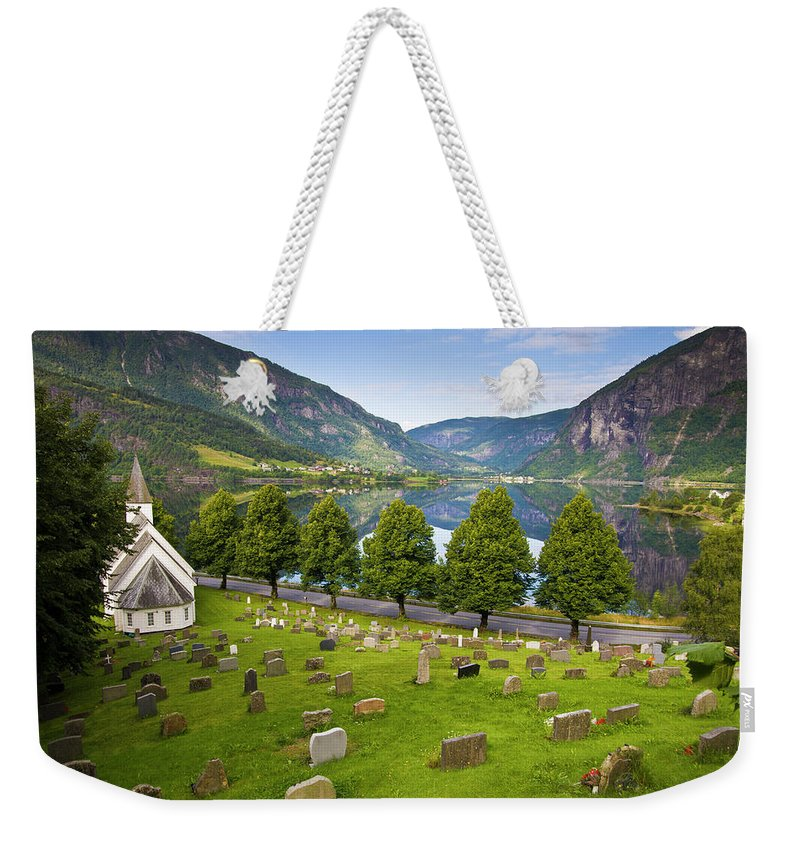 Tranquility Weekender Tote Bag featuring the photograph Norway by Manuel Romaris