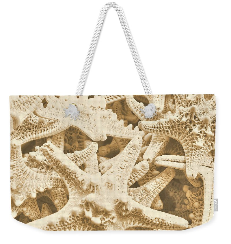 Star Weekender Tote Bag featuring the photograph Ocean Angels by JAMART Photography