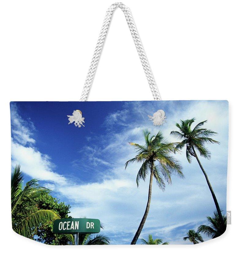 Outdoors Weekender Tote Bag featuring the photograph Ocean Drive, South Beach, Miami by Hisham Ibrahim