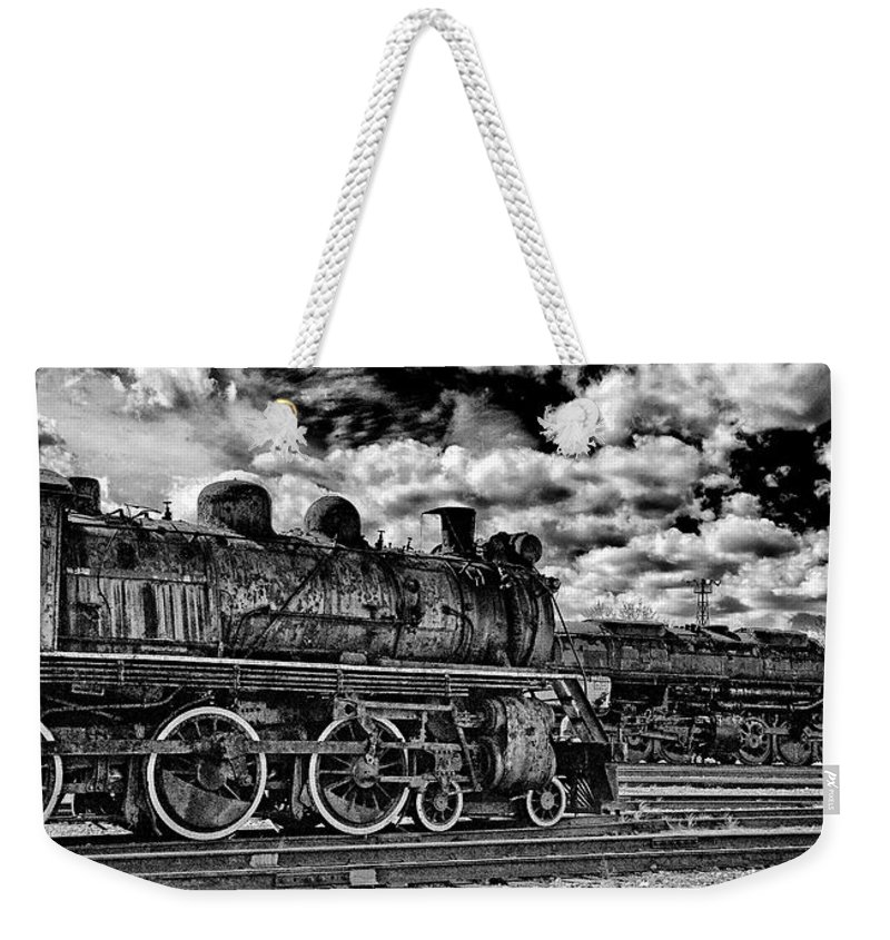 Pan Weekender Tote Bag featuring the photograph Old Number 47 - Pano by Paul W Faust - Impressions of Light